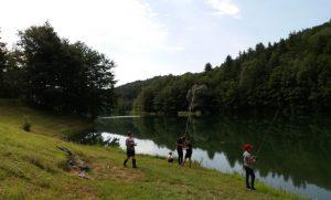Ribiški tabor za mlade ribiče