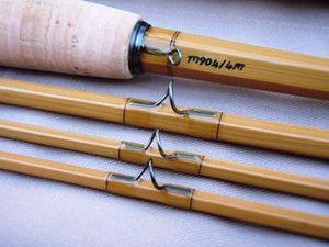 Cepljenke, zlepljene iz bambusa, so pričeli izdelovati šele konec 18. stoletja.