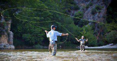 Muharski tečaj, spoznavanje domačih rek in tečaj vezanja muh